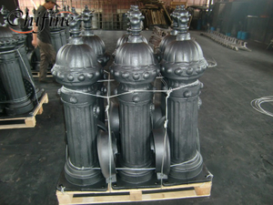 Municipal Machinery Part-Cast Fountain
